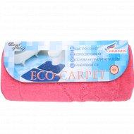 Набор ковриков для ванной комнаты «Эко» розовый.
