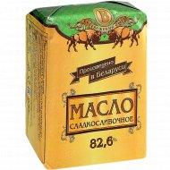 Масло «Сладкосливочное» несоленое, 82.6%, 200 г.