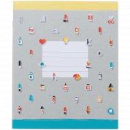 Тетрадь «Мелкий рисунок» линейка 12 листов.