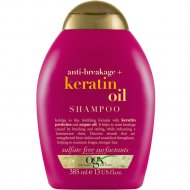 Шампунь «OGX» против ломкости волос с кератиновым маслом, 385 мл.