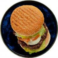 Гамбургер с говядиной, замороженный, 1/250 .