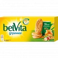 Печенье «Belvita» мульти-злаковое, фундук, мед, 225 г