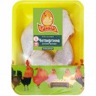 Четвертина задняя цыпленка-бройлера, охлажденная, 1 кг., фасовка 0.6-0.9 кг
