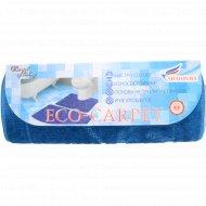 Набор ковриков для ванной комнаты «Эко» синий .