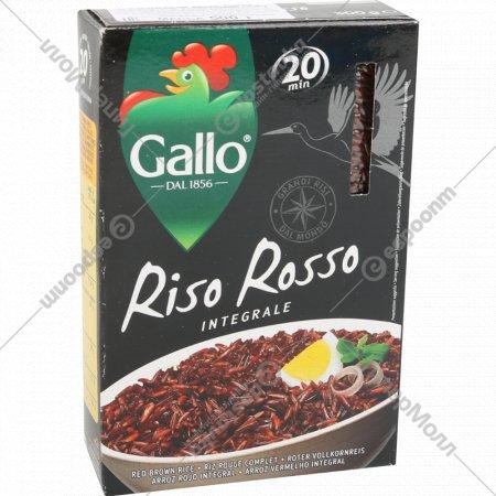 Рис круглозерный «Riso Gallo» пропаренный, 500 г