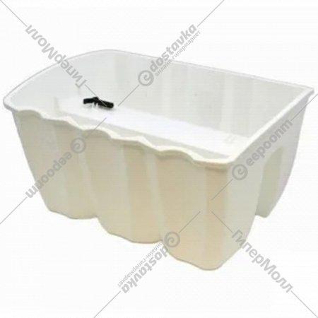 Горшок «Prosperplast» пластиковый Crown 400, белый