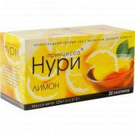 Чай «Принцесса Нури» лимон 37.5 г (25х1.5 г)