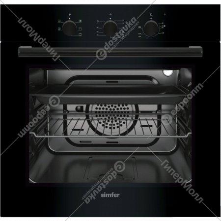 Духовка электрическая «Simfer» B6EB16011 черный.