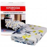 Комплект постельного белья «Цветы» двуспальный