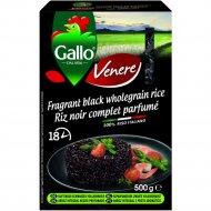 Рис черный «Gallo» venere, пропаренный, 500 г.