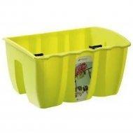 Горшок «Prosperplast» пластиковый Crown 400, лайм