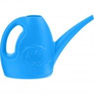 Лейка садовая «Дельфин» 3 л, голубая