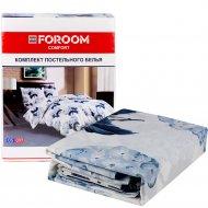 Комплект постельного белья «Цветок спокойный» двуспальный, евро