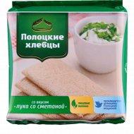 Хлебцы «Полоцкие» со вкусом лука со сметаной, 55 г.