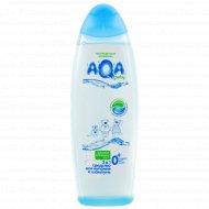 Средство для купания и шампунь «AQA baby» 2в1, 500 мл.