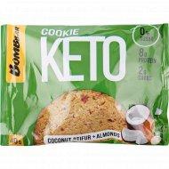 Печенье неглазированное «Bombbar» кокосовый птифур и миндаль, 40 г