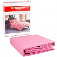 Комплект постельного белья «Foroom comfort», розовый, двуспальный