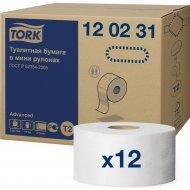 Бумага туалетная «Tork» двухслойная, 12 рулонов
