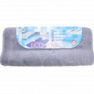 Набор ковриков для ванной комнаты «Эко» серый .