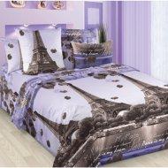 Комплект постельного белья «Моё бельё» Романтика Парижа 4, Евро