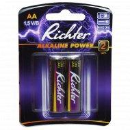 Батарейки «Richter» АА, 1.5 V/В, 2 шт.