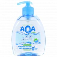 Жидкое мыло для малыша «AQA baby» с дозатором, 300 мл.