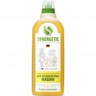Гель для посудомоечных машин «Synergetic» биоразлагаемый, 1 л
