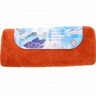 Набор ковриков для ванной комнаты «Эко» 60x90, 60x50 см, кирпичный.