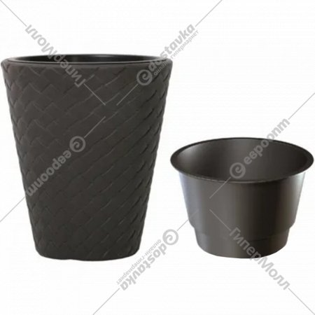 Горшок «Prosperplast» пластиковый Flower pot Matuba-umber