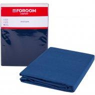 Простыня «Foroom comfort» евро, сине-коричневый
