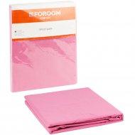 Простыня «Foroom comfort» полуторная, розовый