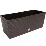 Горшок «Prosperplast» пластиковый Flower pot Rato case – Umber