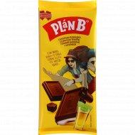Шоколад горький «Plan B» сахарная помадка со вкусом текилы, 90 г.