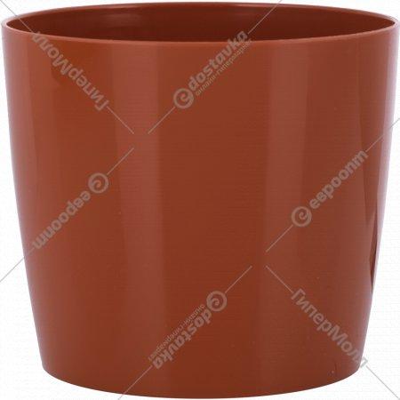 Цветочный горшок «Optimplast» 100 мм, круглый, 0.5 л