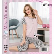 Пижама «Miss Victoria» женская, 63112, р. S/M