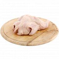 Тушка цыпленка-корнишона, потрошеная, охлажденная, 1 кг., фасовка 0.6-1 кг