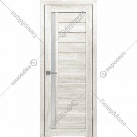 Дверь «Лайт» 9 ДО Латте/Белое матовое, 200х80 см