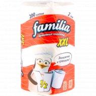 Полотенца бумажные «Familia» XXL, 1 рулон.