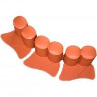 Бордюр садовый «Prosperplast» Palisada 3 м, оранжевый