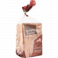 Хлеб тостовый «Brown's Bakery» XXL, темный, 500 г.
