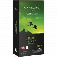Кофе молотый «Carraro Brasile» в капсулах 10 шт. х 5.2 г.