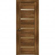 Дверь «Лайт» 7 ДО Корица/Бронза матовое, 200х60 см