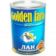 Лак «Golden Farb» ПФ-283 ГОСТ, декоративный, 1.8 кг