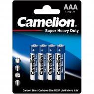 Комплект батареек «Camelion» R03P-BP4B, 4 шт