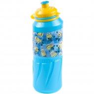 Бутылка для питья «Миньоны» детская, 530 мл.