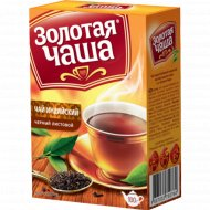 Чай чёрный «Золотая чаша» листовой 100 г.