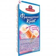 Палочки крабовые «Фанцузский Краб» с мягким сыром, имитация, 200 г.