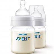 Бутылочка для кормления «Anti-colic» 125 мл, 2 шт.