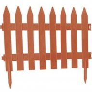 Бордюр садовый «Prosperplast» Plotek Garden Classic 32 м, оранжевый