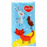 Платочки бумажные носовые «Ruta» детские, 10 шт.